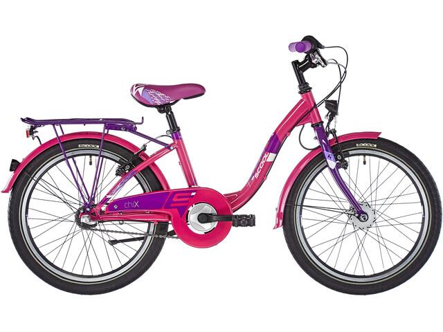 s'cool chiX 20 3-S Steel Kids pink
